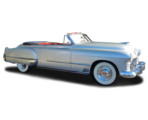 Caddy Convertible - VIP Wedding Transportation