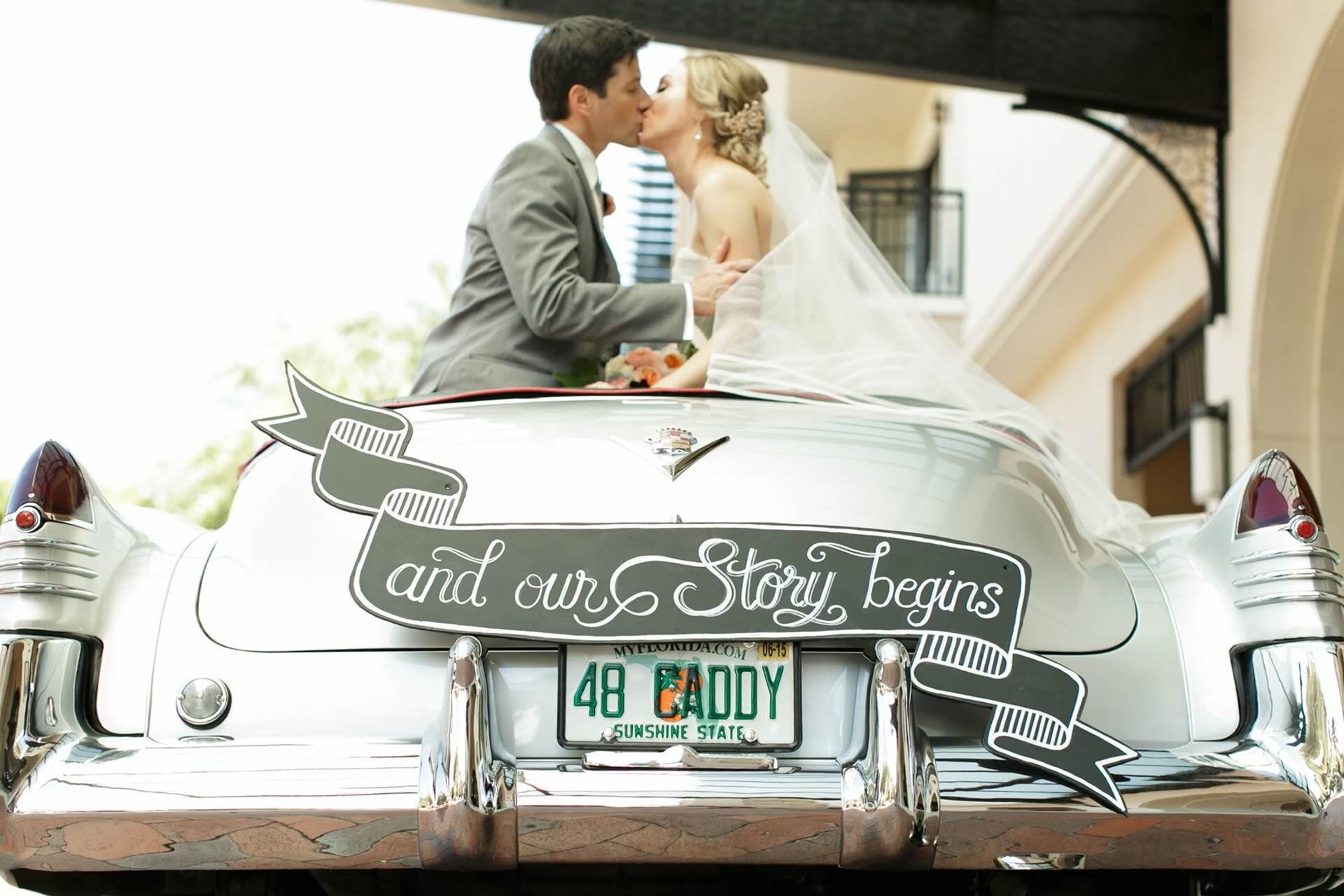 VIP Wedding Transportation - Image provided by: BumbyPhotography.com