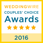 Weddingwire Couples Choice 2016