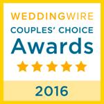 Weddingwire Couples Choice 2016