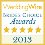 Weddingwire Brides Choice 2013