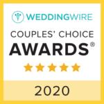 WeddingWire - Couples Choice Award 2020