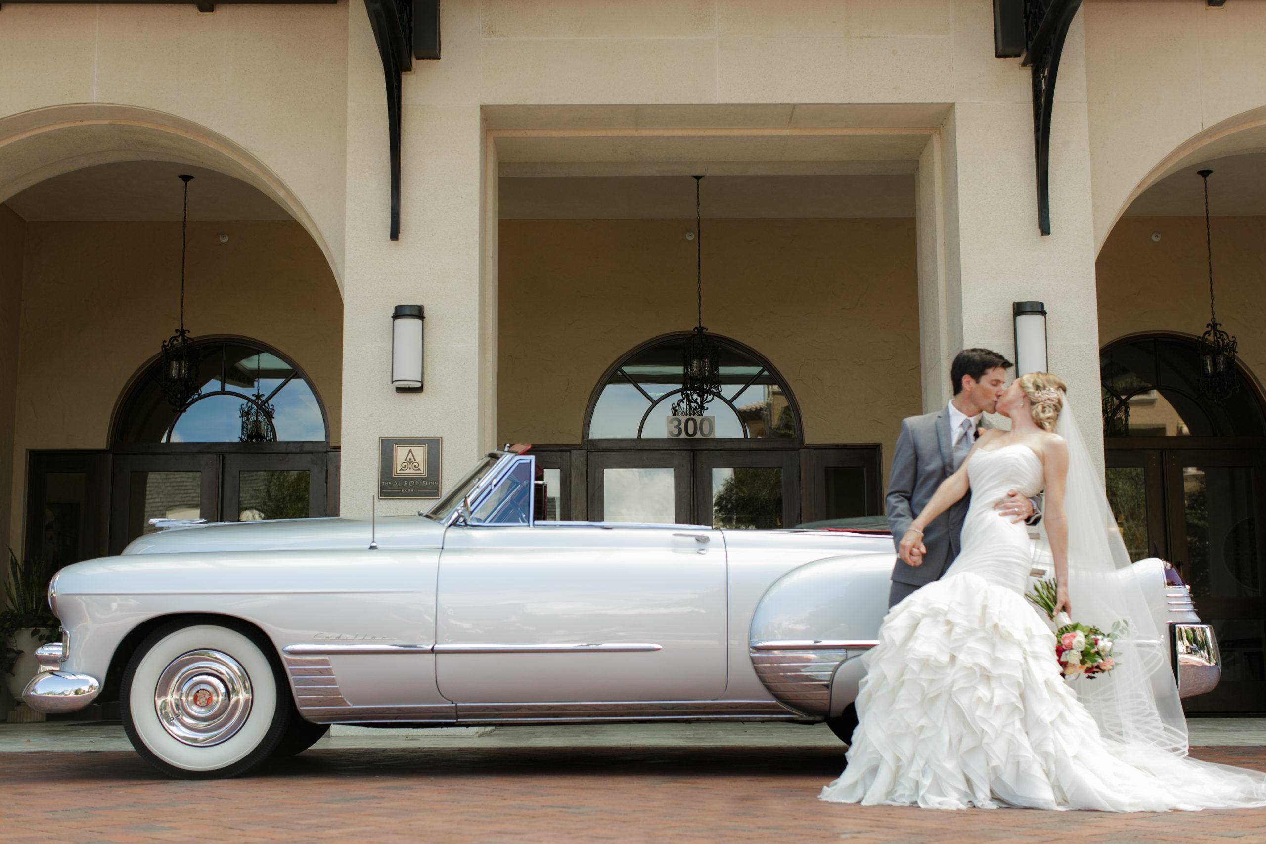 Cadillac Convertible - VIP Wedding Transportation
