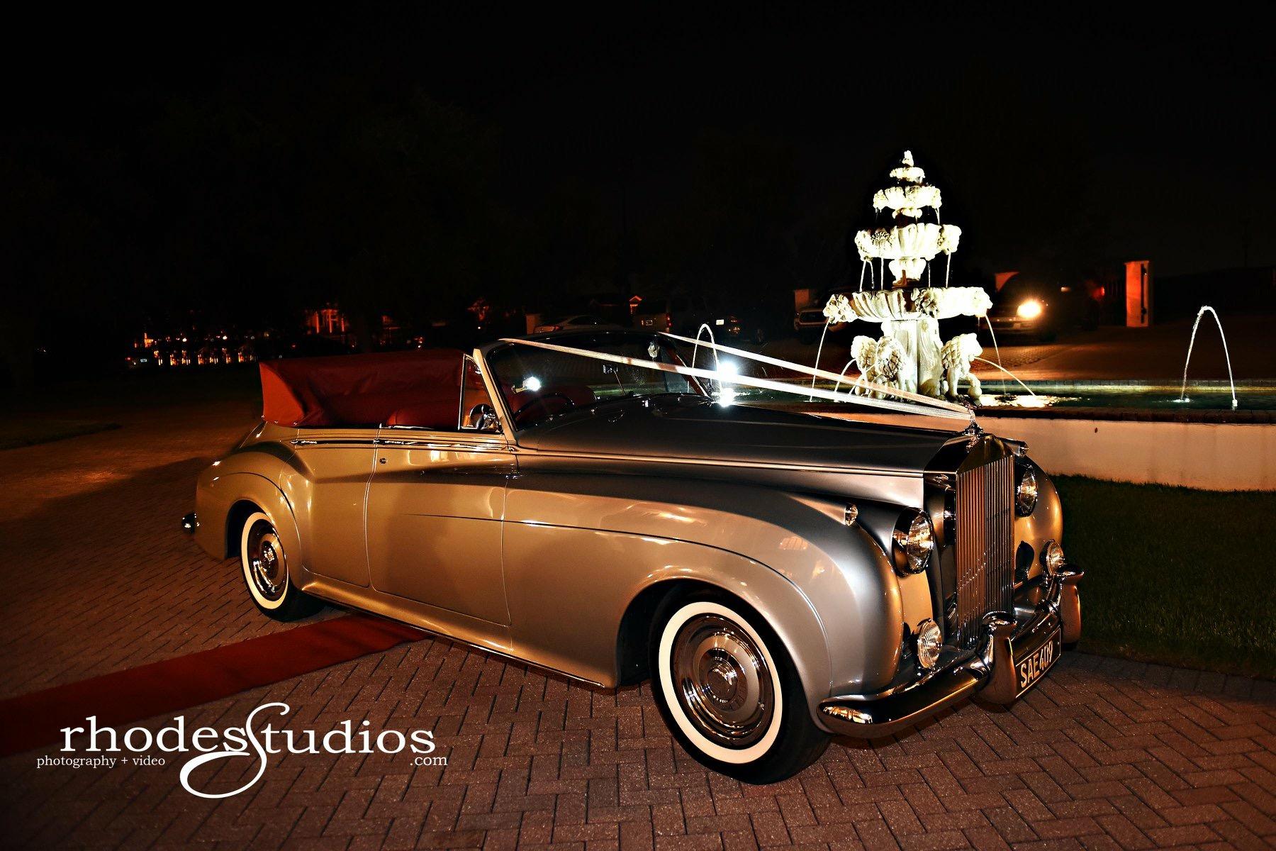Rolls Royce Convertible - VIP Wedding Transportation