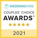 2021 Wedding Wire Couples Award - VIP Wedding Transportation